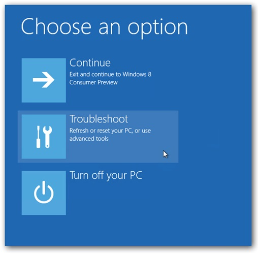 veilige modus windows 8