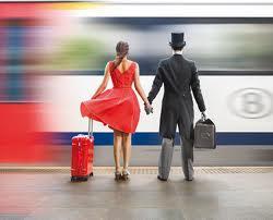 vriendschap en trein