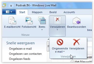 nieuwe mappen maken in windows 10 mail