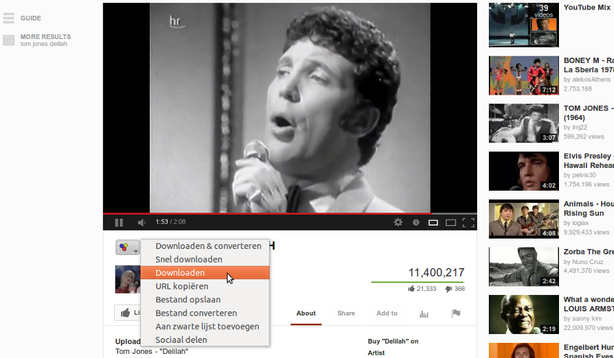 YOUTUBE MUZIEK DOWNLOADEN GRATIS