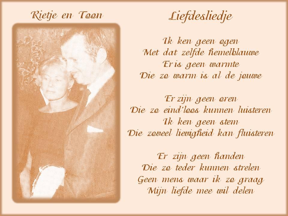 Beroemd Gedicht 50 Jaar Toon Hermans | Gefeliciteerd &QK07