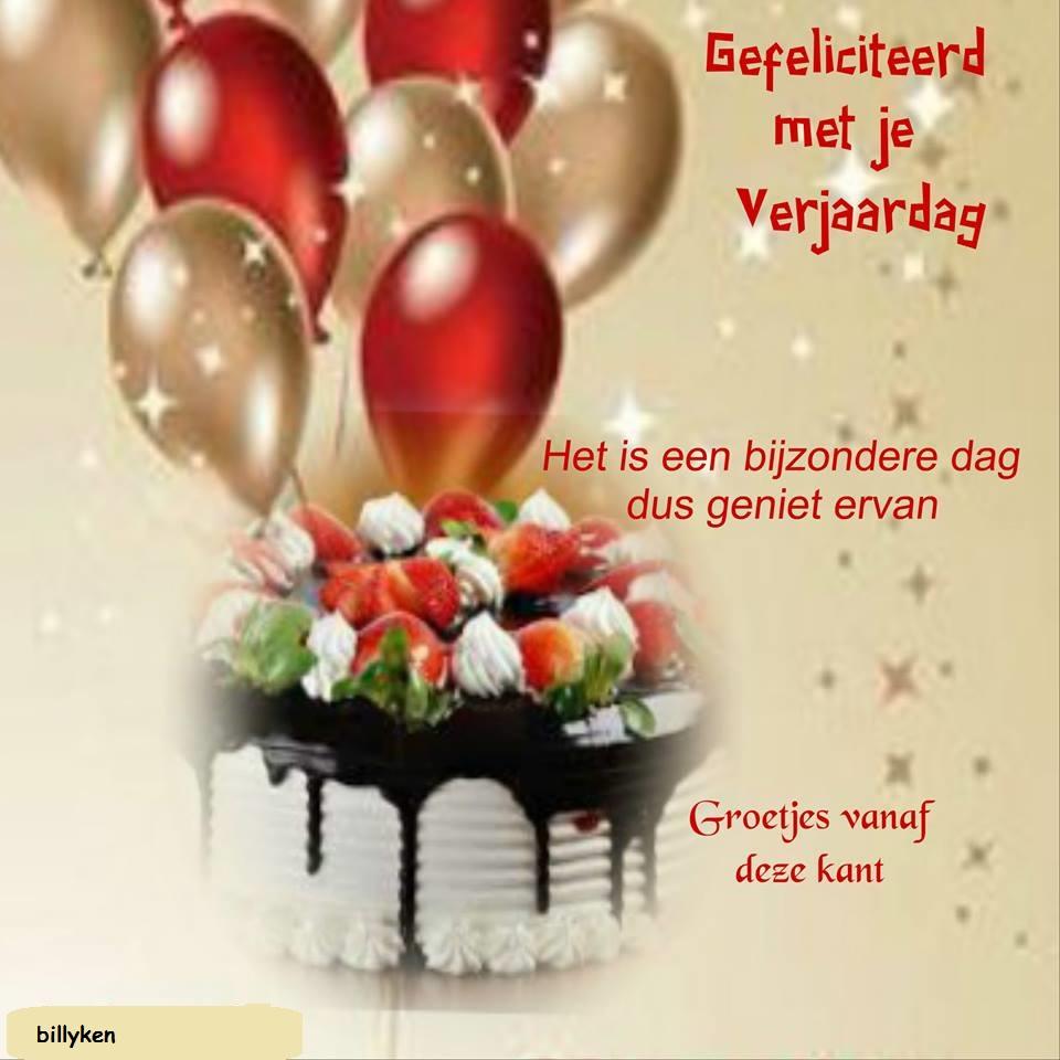 gefeliciteerd met je verjaardag geniet ervan Van Harte Gefeliciteerd Met Je Verjaardag En Nog Vele Jaren   ARCHIDEV gefeliciteerd met je verjaardag geniet ervan