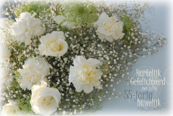 55 jarig huwelijk 55 Jaar Getrouwd Gefeliciteerd   ARCHIDEV 55 jarig huwelijk