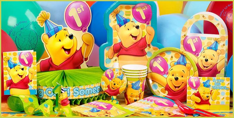 winnie de pooh jarig Winnie The Pooh Eerste Verjaardag   ARCHIDEV winnie de pooh jarig